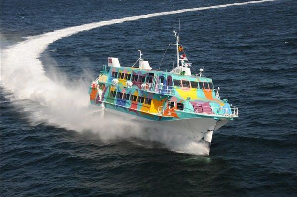 東海汽船(高速ジェット船)