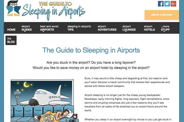 寝るのに適した空港、日本からはトップ50に3空港 「The Guide to Sleeping in Airports」調査