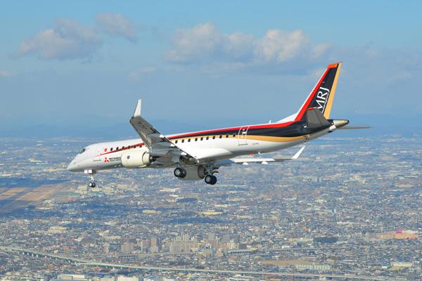 イラン航空、三菱航空機の「MRJ...