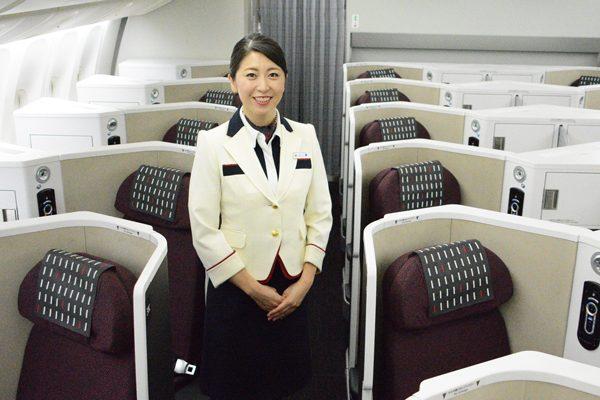 JAL(客室乗務員)