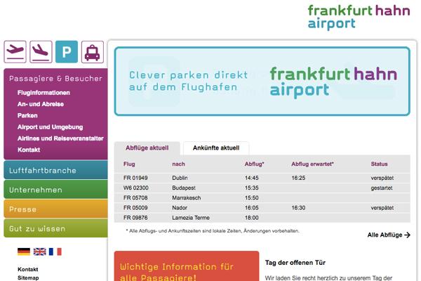 フランクフルト・ハーン空港