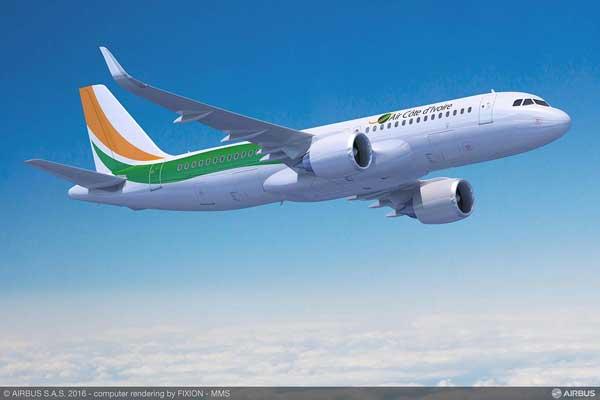 エア・コートジボワール(A320neo)