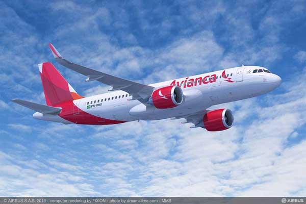 アビアンカ・ブラジル(A320neo)