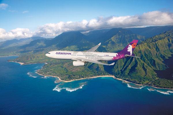 ハワイアン航空(エアバスA330-200型機)