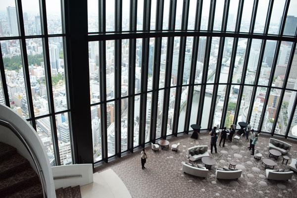 「コンラッド大阪」、6月9日に開業 164室から大阪を一望