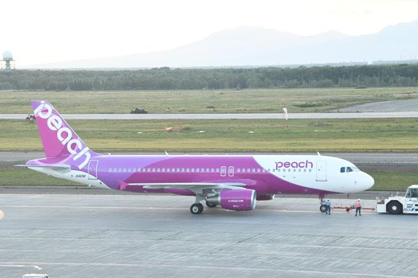 ピーチ(エアバスA320型機)