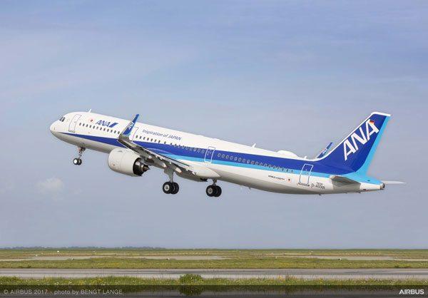 全日本空輸(エアバスA321neo)