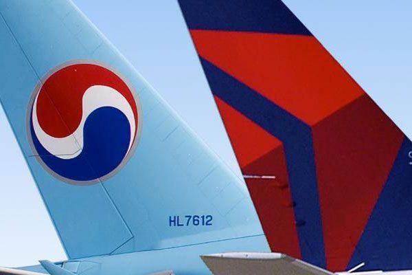 デルタ航空・大韓航空