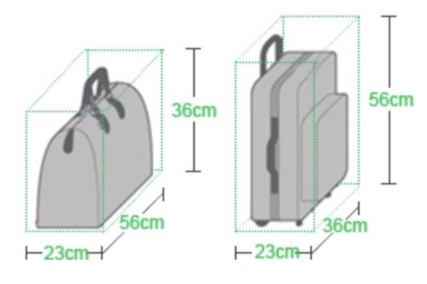 春秋航空 機内持ち込み手荷物 サイズ
