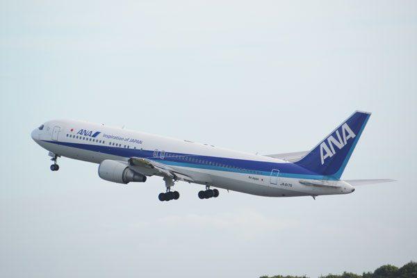 ANA(エアージャパン、ボーイング767-300型機)