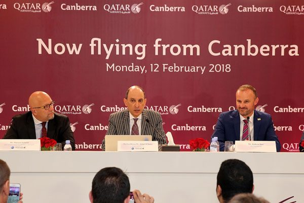 カタール航空、キャンベラに乗り入れ開始 オーストラリア5都市目