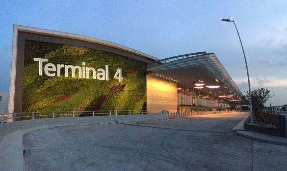 シンガポール、チャンギ国際空港第4ターミナル