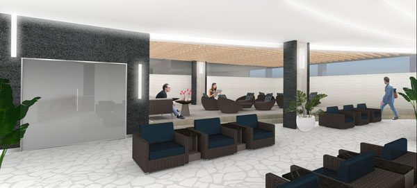 ANA SUITE LOUNGE(ダニエル・K・イノウエ国際空港)