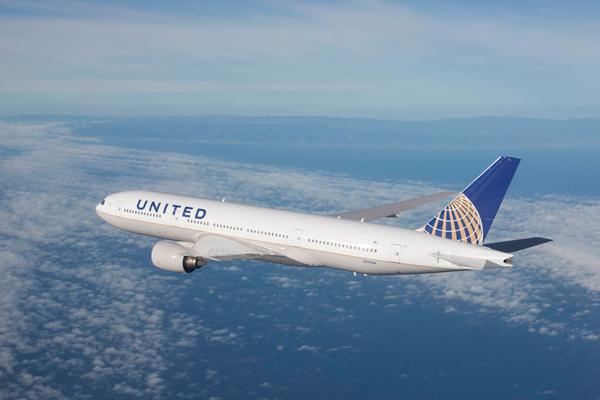 ユナイテッド航空(ボーイング777-200ER)