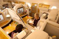 エミレーツ航空(ファーストクラス)