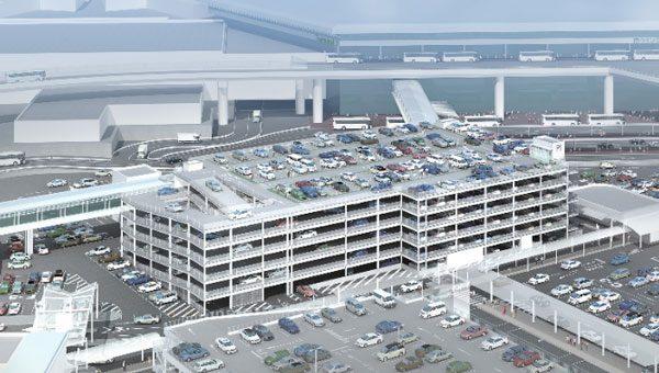 成田国際空港、P1立体駐車場を7月中旬オープン 来夏にはP2駐車場にも ...