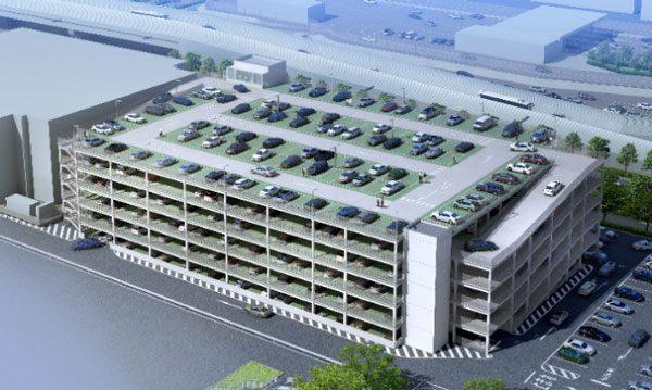 成田国際空港(P2立体駐車場)