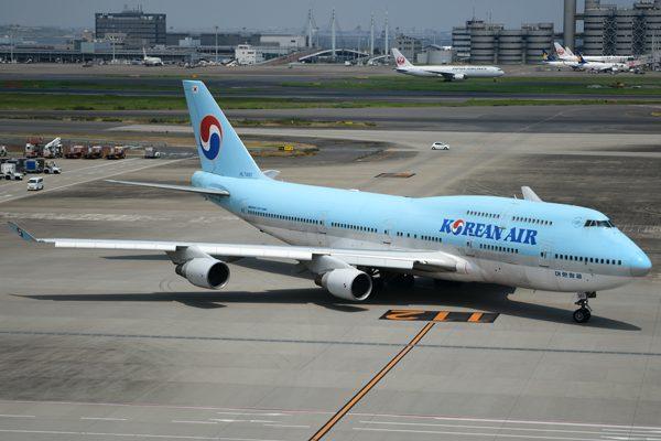 大韓航空(ボーイング747-400型機)