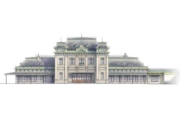 門司港駅、大正時代の姿で2019年3月グランドオープン 駅舎内にスタバ出店