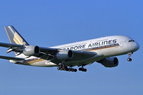 シンガポール航空(エアバスA380型機)