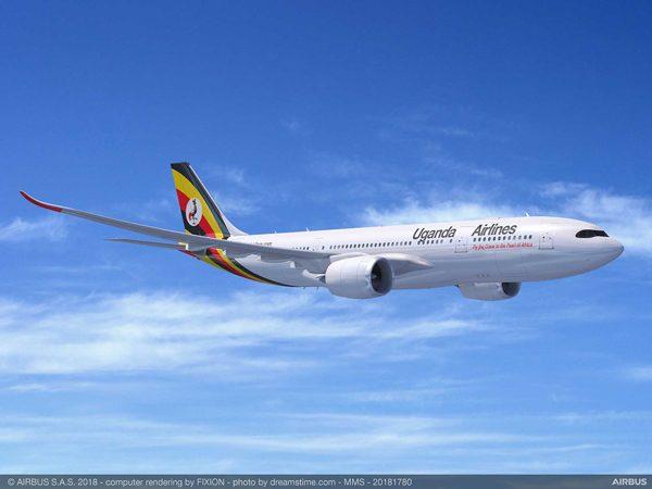 ウガンダ・エアラインズ(エアバスA330-800neo)