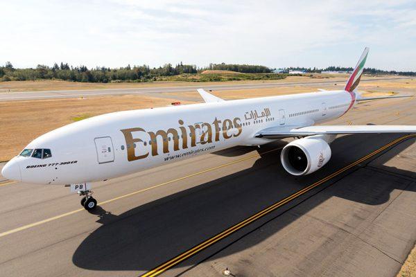 エミレーツ航空(ボーイング777-300ER)