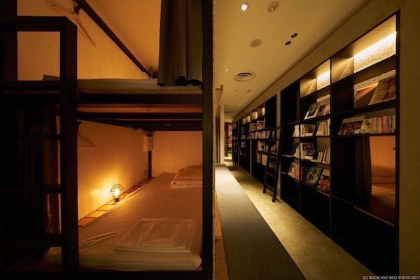泊まれる本屋「BOOK AND BED TOKYO」、大阪・心斎橋に今秋オープン