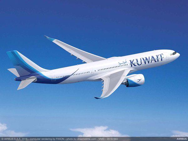 クウェート航空(エアバスA330-800型機)