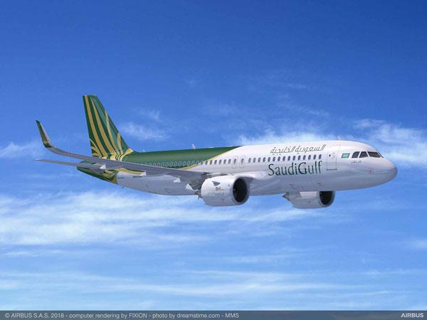 サウジガルフ航空(エアバスA320neo)