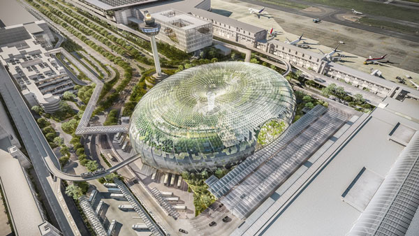 Jewel Changi Airport(ジュエル チャンギ エアポート)