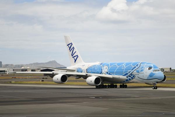 ANA(エアバスA380型機)
