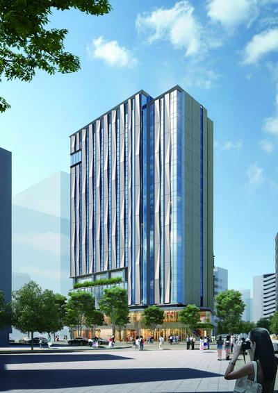 JR九州、「THE BLOSSOM HAKATA Premier」を9月25日開業 最上階にはラウンジ