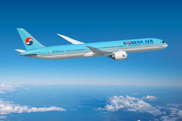 大韓航空(ボーイング787-10型機)