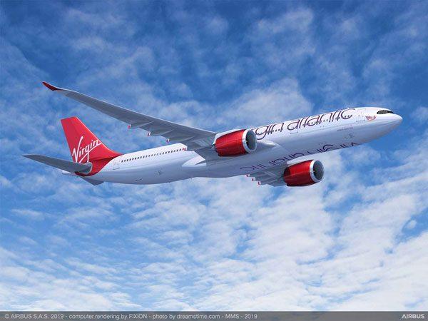 ヴァージン・アトランティック航空(エアバスA330-900neo)