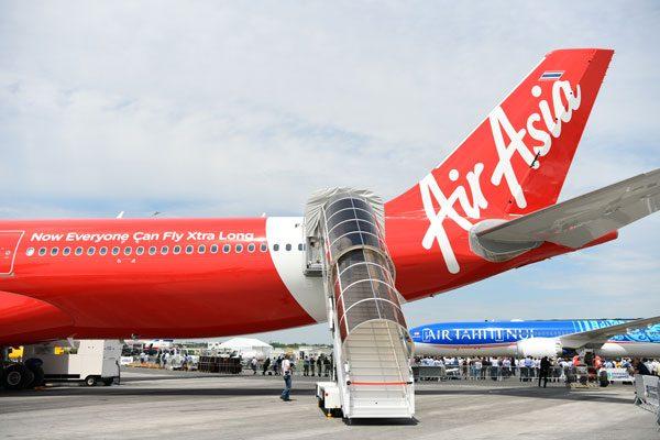 タイ・エアアジアX(エアバスA330-900neo)