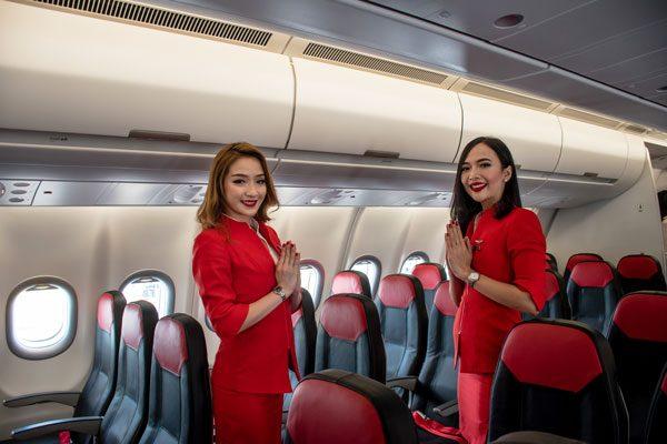 タイ・エアアジアX(エアバスA330-900neo)、提供:エアアジア