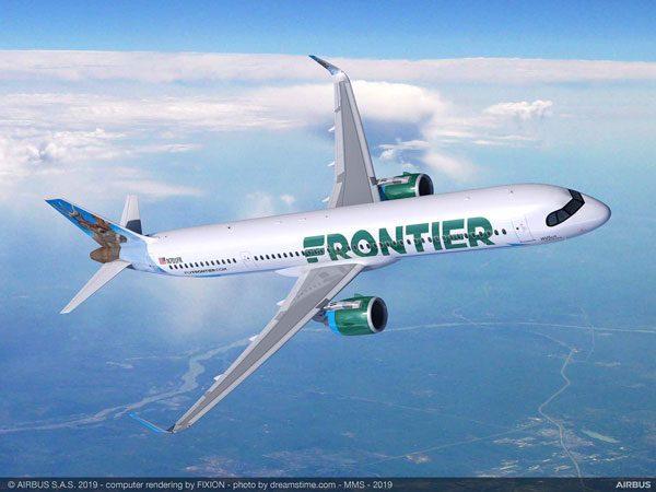 フロンティア航空(エアバスA321XLR)