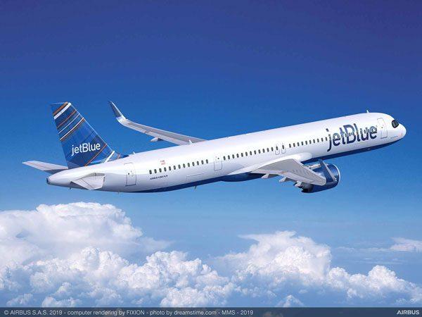 ジェットブルー航空(エアバスA321XLR)