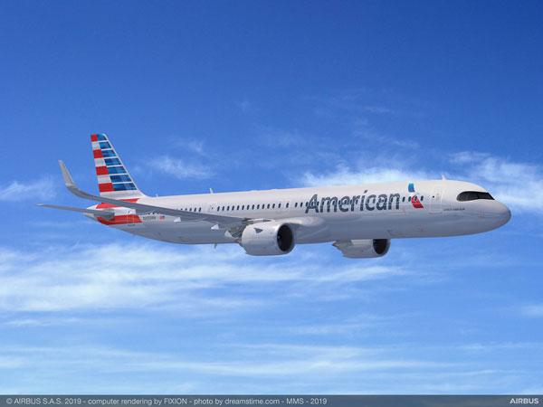 アメリカン航空(エアバスA321XLR)