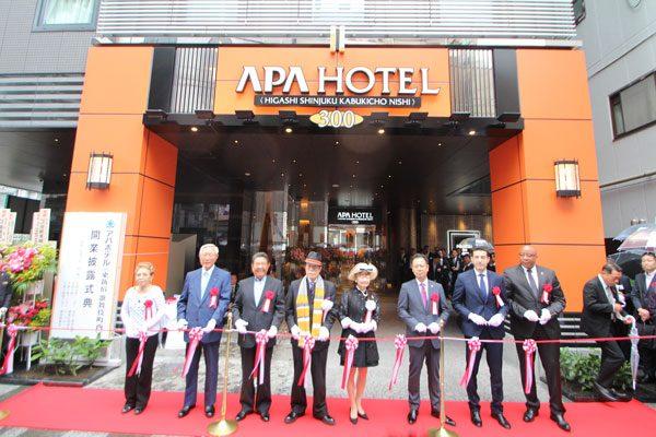 アパホテル〈東新宿 歌舞伎町西〉
