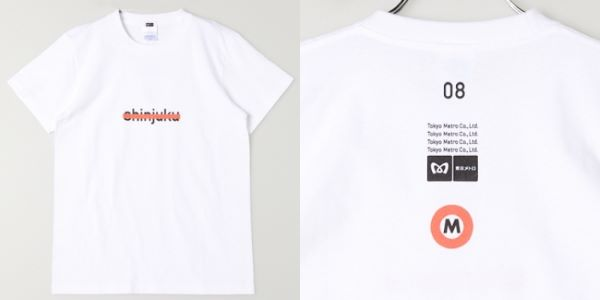 smarby メトロTシャツ