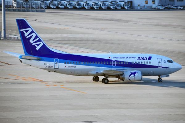 ANA(ボーイング737-500型機)