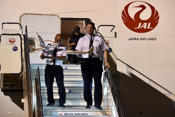 カリッタ航空 JAL