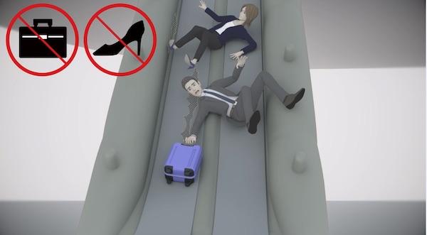 JAL新機内安全ビデオ