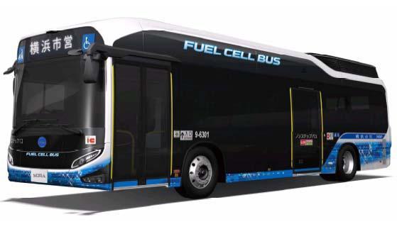 横浜市交通局 燃料電池バス