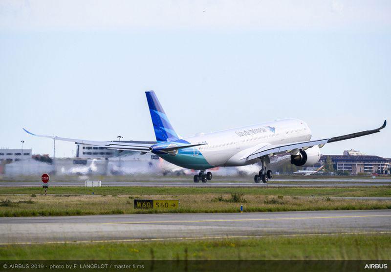 ガルーダ・インドネシア航空(エアバスA330-900neo)
