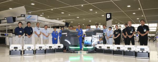 成田空港 清掃ロボット
