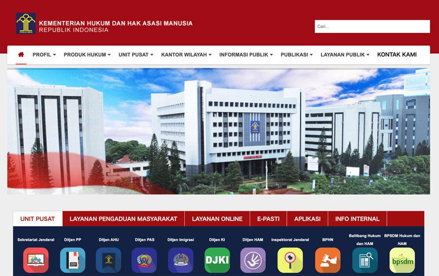 インドネシア法務人権省