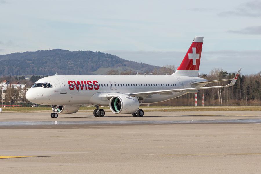 スイス・インターナショナル・エアラインズ(エアバスA320neo)