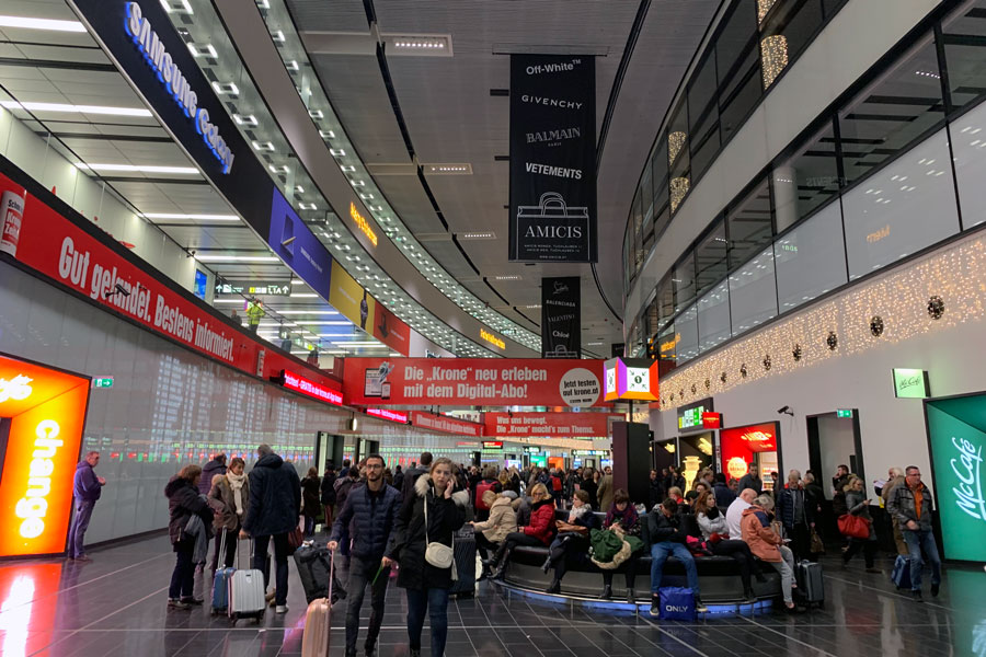 ウィーン国際空港